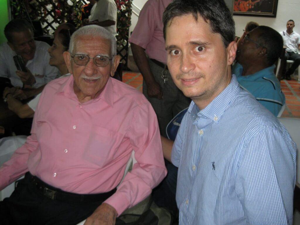 Julio Erazo compositor del tango Lejos de Ti