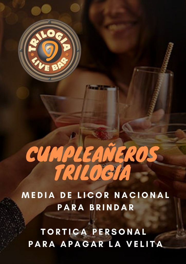 Regalo Cumpleaños de Trilogía Bar