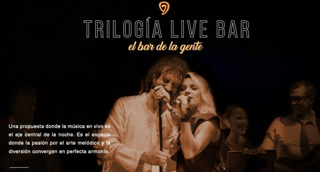 Brochure Trilogía Bar